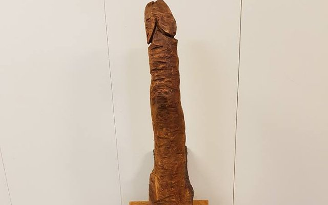 Can you solve the mystery of this giant wooden penis found in Sweden?