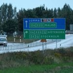 E6 motorway closed after suspicious object found