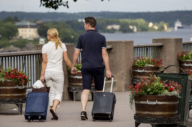 The number of American visitors to Sweden soared this summer