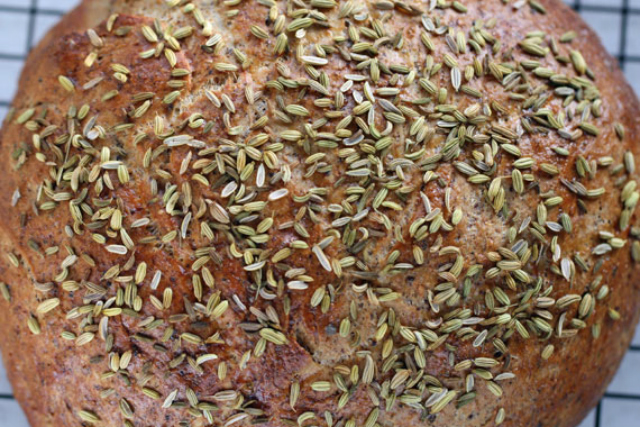 Recipe: How to make Swedish spelt bread with fennel seeds