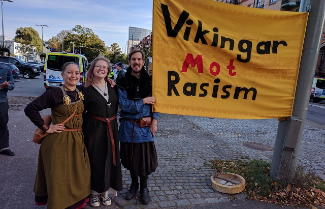 'We can't let racists re-define Viking culture'
