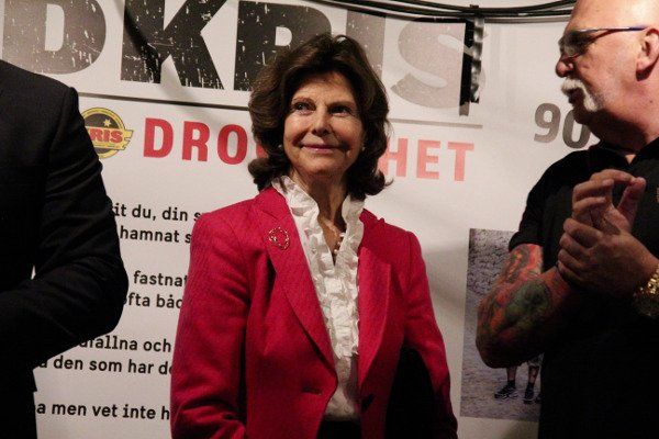 IN PICTURES: Queen Silvia praises support for ex-convicts
