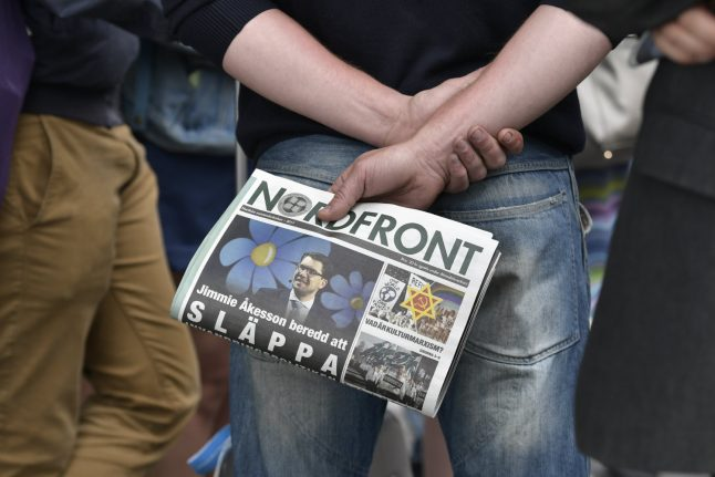 Nazi website reported by Swedish police after 'threats'