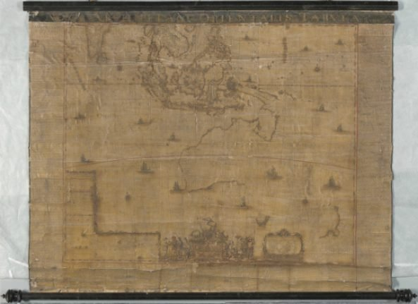 Rare map found in Sweden to be displayed in Australia