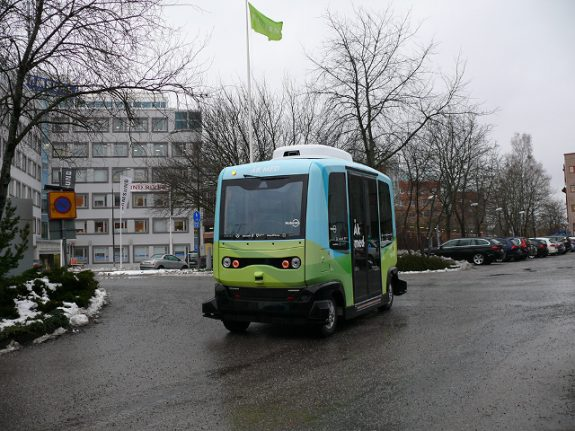 Stockholm gets Scandinavia's first driverless buses on public road