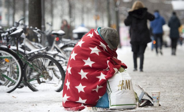 Swedish government wants new law to stop begging exploitation