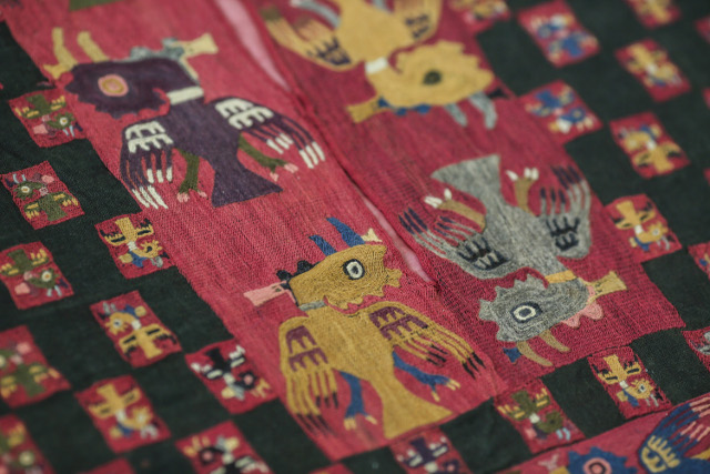 Peru recovers 79 pre-Hispanic textiles illegally kept in Sweden