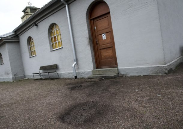 Police probe attempted arson against Jewish chapel in Malmö