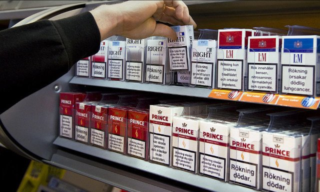 Robbers 'saw through roof' of Swedish store to beat alarms and steal tobacco