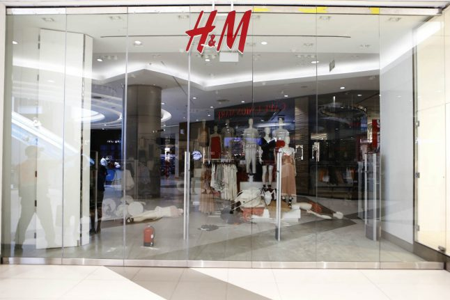 Protests in Johannesburg over 'racist' H&M ad