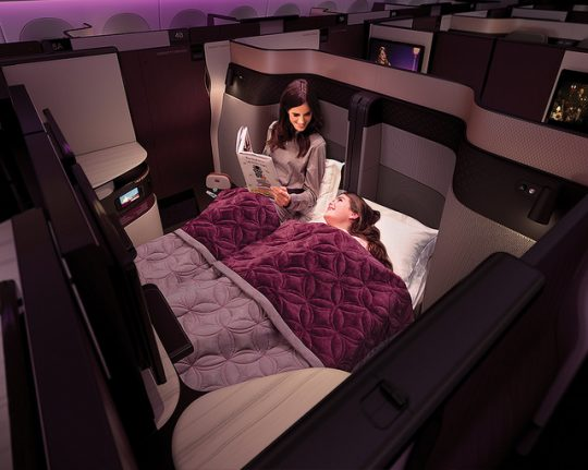 Become a Member of The Local and get 10 percent off luxury Qatar Airways flights