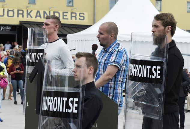 Swedish court convicts neo-Nazi leader of inciting racial hatred at rally