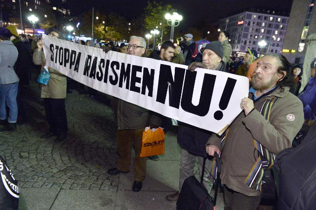 Almost half of Swedes think racism will increase in the country