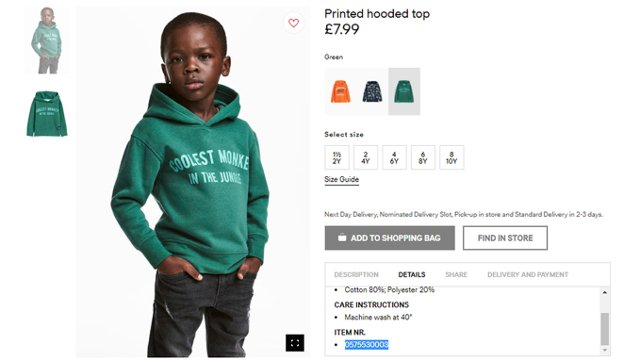 H&M removes ad after racism accusation