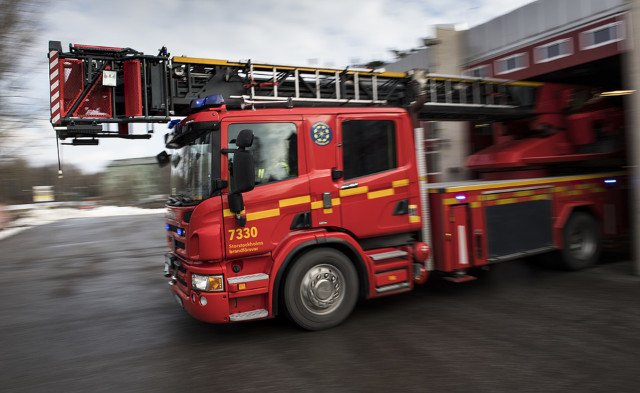 Several fatalities feared after fire engulfs house near Stockholm