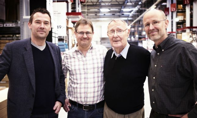 Ingvar Kamprad's sons pledge to protect his Ikea vision