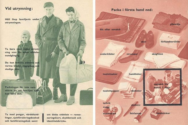 Sweden to re-issue booklet of world war precautions