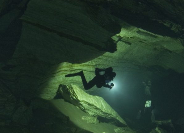 Woman dies in Swedish diving accident