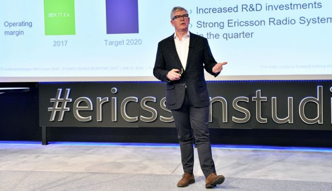 Ericsson posts huge loss after year of job cuts