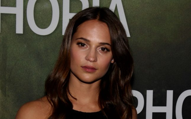 Alicia Vikander: 'In Hollywood there's not a single woman to work with'