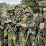 Sweden's Armed Forces had a shortage of new troops in 2017