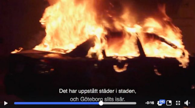 Swedish video slammed for using Canadian footage in clip about Gothenburg