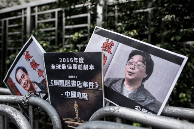 Publisher detained in China 'confesses', blames Sweden