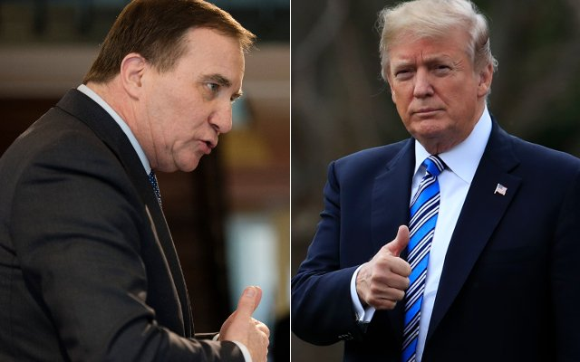 Swedish PM Stefan Löfven to meet Donald Trump in the White House