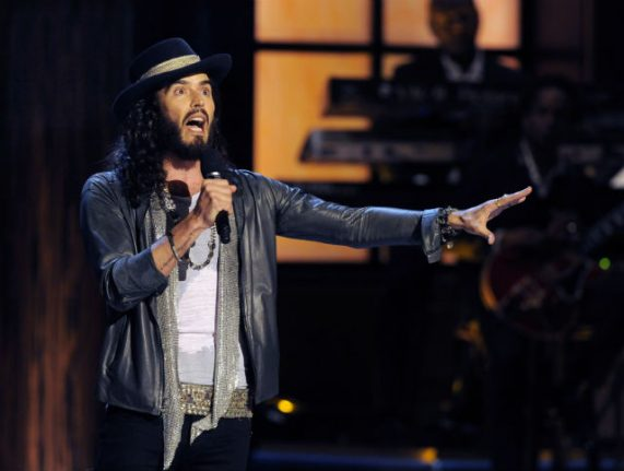 Russell Brand on gorgeous Swedes, state-run booze shops, and becoming a 'latte dad'
