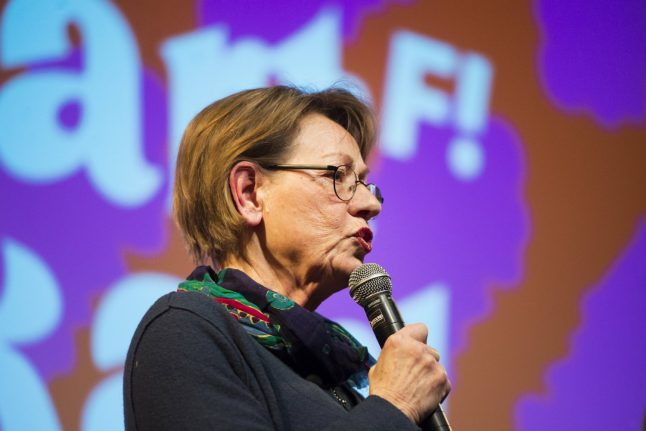 Sweden's Feminist Initiative stands by 'pink politics' in new climate