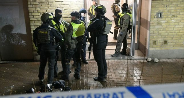 Two held after man shot dead in Malmö