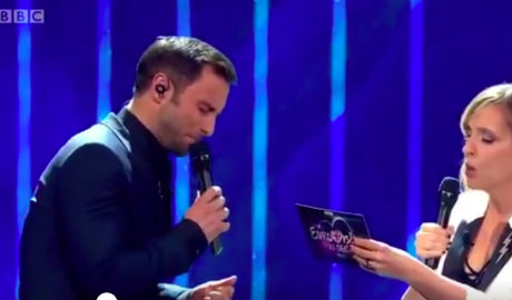 Sweden's Måns strikes massive hit with UK Eurovision debut