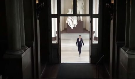 VIDEO: Sweden's Princess Victoria gives a running tour of her royal palace