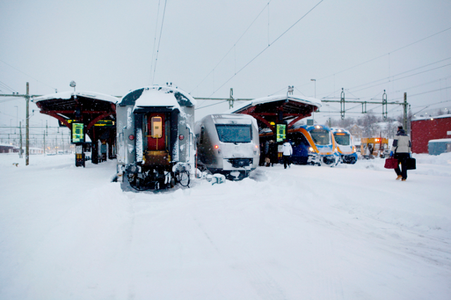 Sweden just had its coldest night this winter