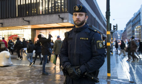 First on the scene at the Stockholm terror attack