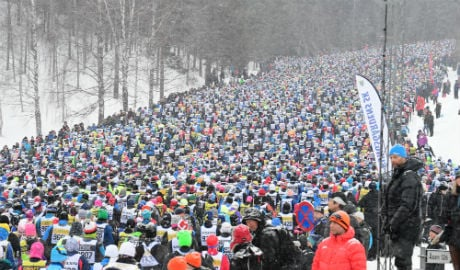 Relief for Sweden's Vasaloppet race as air warms to -7C