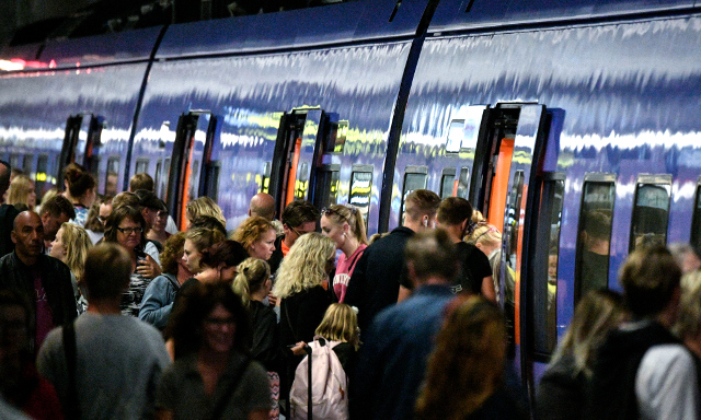 Here's how many trains ran on time in Sweden last year