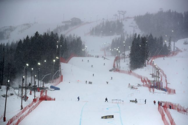 High winds cancel World Cup ski races in Sweden