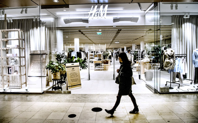 Cold start to 2018 hits H&M profits in 'transitional year'