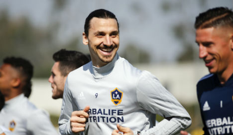 Zlatan coy on World Cup plans as joins Galaxy