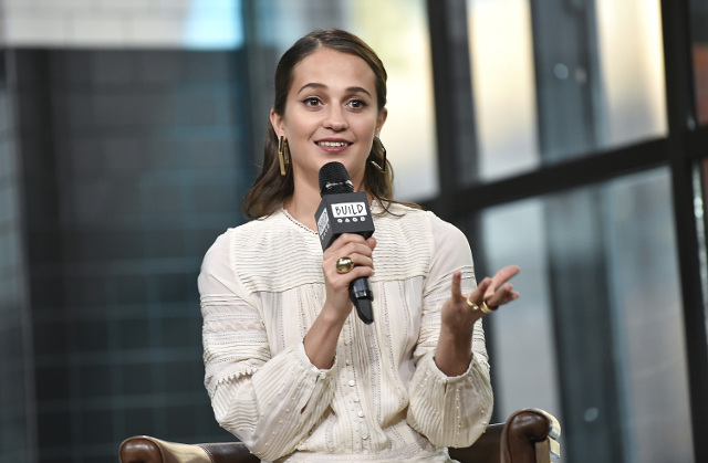 'Give back for old cheese': Alicia Vikander teaches Swedish slang to the world