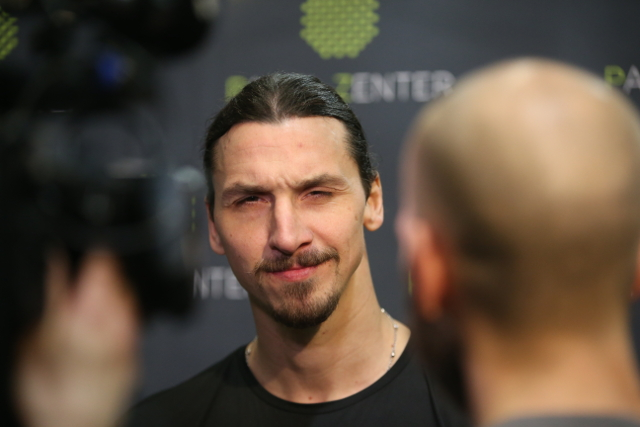 Say what now? Zlatan Ibrahimovic hints at Sweden return for World Cup