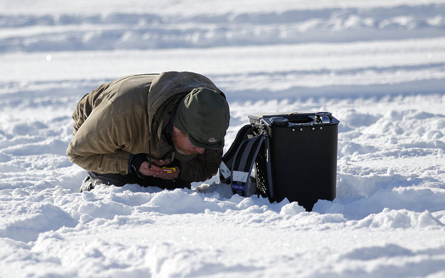 IN PICTURES: Competitive ice fishing in Lycksele, Swedish Lapland