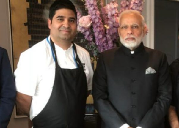 Meet the Indian entrepreneur who cooked for Modi and Löfven in Stockholm