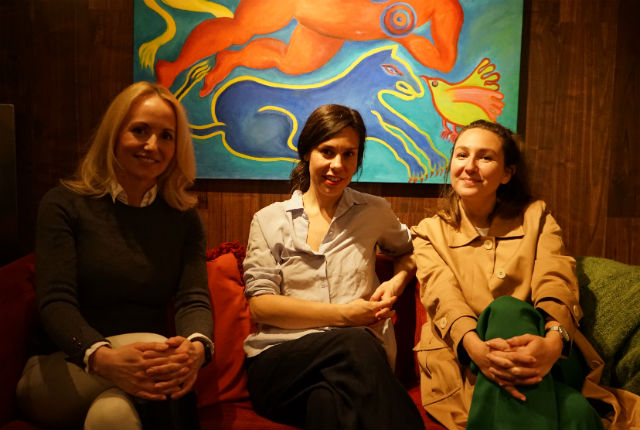 PODCAST: A Woman's Place episode four. 'Denise, Paula, and the naked Swedes'.