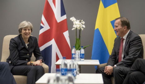 Swedish PM upbeat on Brexit talks after May visit