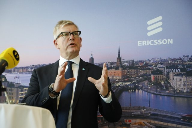 Ericsson's cost cuts start to pay off as shares soar