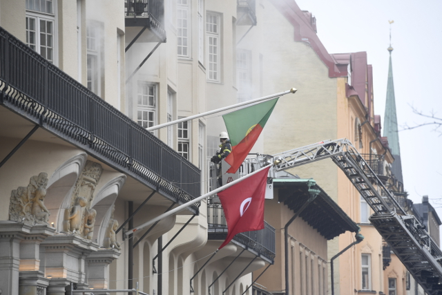 Arson suspect held over fire at Portuguese embassy in Stockholm