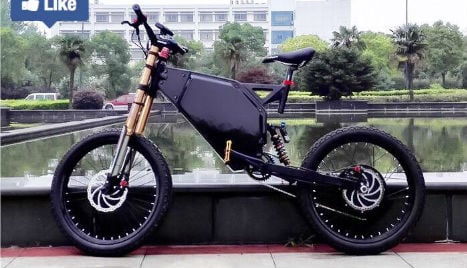 Swede stopped at 98kmh on souped-up electric bicycle