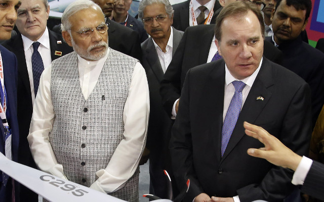 Sweden and India to sign multiple deals during Modi visit: report